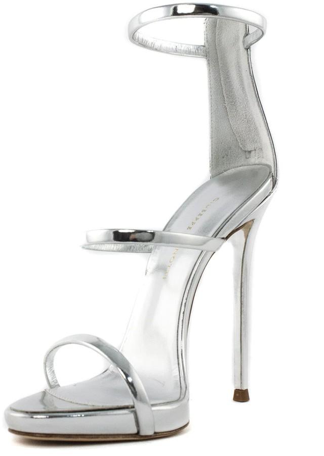 Thumbnail for your product : Giuseppe Zanotti Patent Leather harmony Sandal