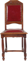One Kings Lane Vintage 1920s Tudor Rose Side Chair