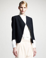 Chloé Raw Silk Jacket