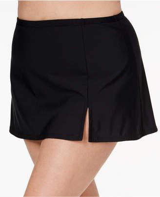 Swim Solutions Plus Size Swim Skirt, Women Swimsuit