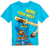 Lego Graphic-Print Cotton T-Shirt, Toddler & Little Boys (2T-7)