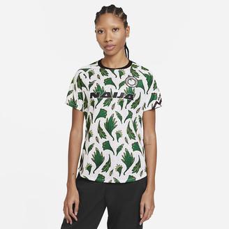 Nike Women's Pre-Match Short-Sleeve Soccer Top Nigeria