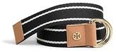 Striped Webbing Belt