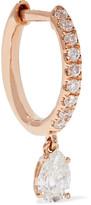 Anita Ko 18-karat Rose Gold Diamond Earring - one size