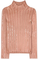 Nina Ricci Embellished wool-blend sweater