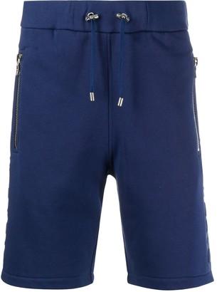 Balmain Debossed Sweat Shorts
