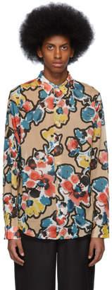 Hope Multicolor Painted Flower Air Clean Shirt