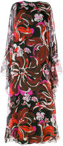 Emilio Pucci printed kaftan-style gown