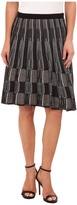 Nic+Zoe Cascading Squares Wink Skirt