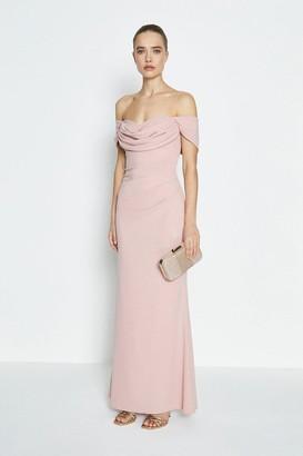 Coast Drape Bodice Bardot Maxi Dress