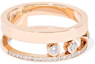 Messika Move Romane 18-karat Rose Gold Diamond Ring