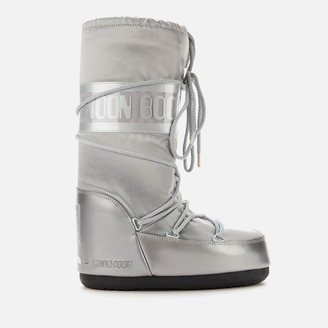 Moon Boot Women's Glance Boots - Silver