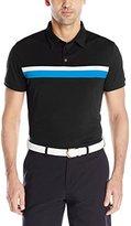 J. Lindeberg Men's Noah Slim-Fit Tx Jersey Golf Polo Shirt, White