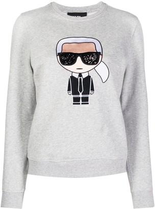 Karl Lagerfeld Paris Iconic sweatshirt