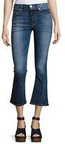 Hudson Brix High-Rise Crop Flared Jeans, Indigo