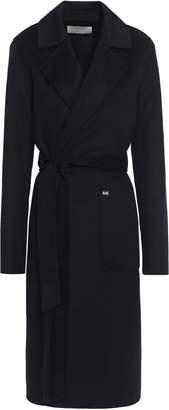 MICHAEL Michael Kors Wool-blend Brushed-felt Trench Coat