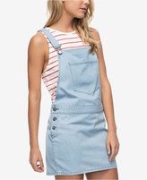 Roxy Juniors' Cotton Denim Overall Dress