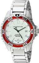 Momentum Women's Quartz Stainless Steel and Ceramic Diving Watch, Color:Silver-Toned (Model: 1M-DN11LD0)