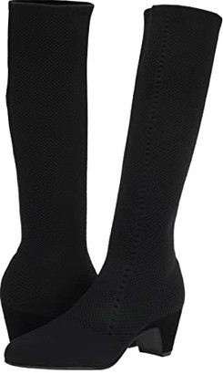 Eileen Fisher Keto (Black Stretch) Women's Boots
