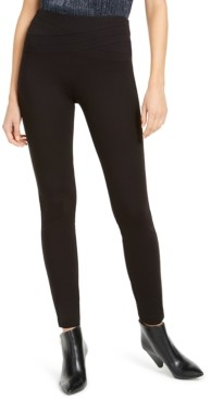 INC International Concepts Inc Petite Wavy-Waistband Pull-On Pants, Created for Macy's