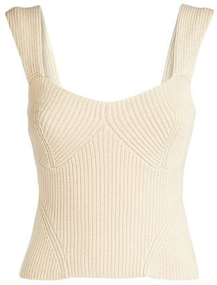 STAUD Sleeveless Knit Kira Top