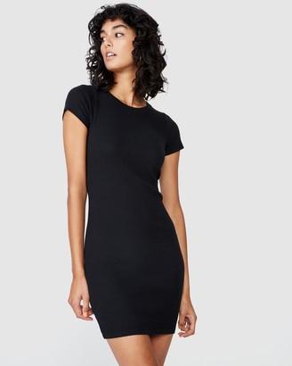 Supre Lucia Rib Tee Mini Dress