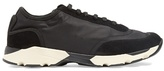 Marni Suede-panelled Low-top Trainers