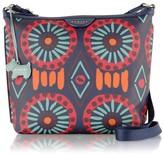 Summer Tribes Medium Ziptop Cross Body Bag