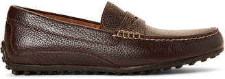 Florsheim Brown Throttle Leather Penny Drivers