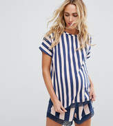 Asos Double Stripe PJ Short Set