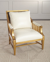 John-Richard Collection John Richard Collection Newry Leather Arm Chair