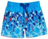 Vilebrequin Boys' Jim Ski Print Swim Trunks - Sizes 2-8