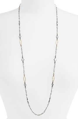 Armenta Old World Enamel Chain Necklace
