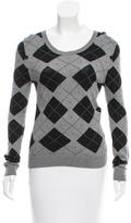 A.P.C. Argyle Crew Neck Sweater