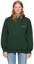 Sporty And Rich Sporty and Rich Green Classic Logo Hoodie