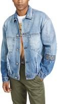Versace Rip And Repair Denim Jacket