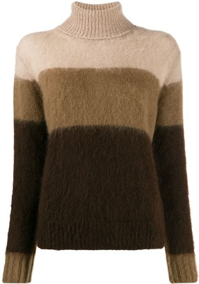 Golden Goose striped rollneck knit sweater