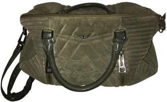 Zadig & Voltaire Green Suede Handbags