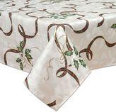 Lenox Holiday Nouveau Holly Leaf Tablecloth
