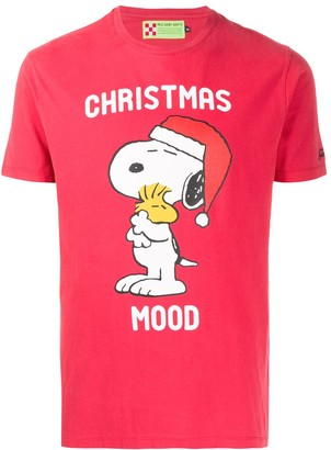 MC2 Saint Barth Snoopy Christmas t-shirt