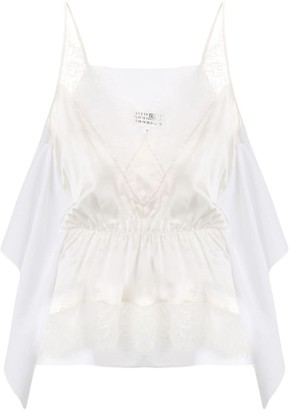 MM6 MAISON MARGIELA Lace-Trim Camisole