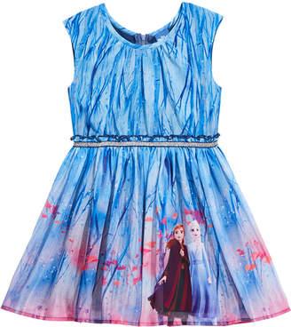 Disney Little Girls Frozen Landscape Dress