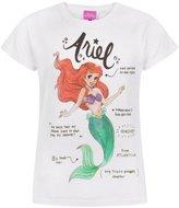 Disney Childrens/Girls Official Little Mermaid Ariel T-Shirt
