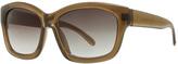 Max Studio Khaki Zyl Sunglasses