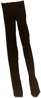 Balenciaga Black Polyester Scarves