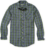 Arizona Button-Front Woven Shirt - Boys 8-20 and Husky