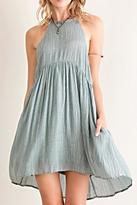 Entro Acid Wash Babydoll Dress