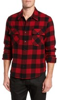 Frame Men's Buffalo Check Shirt Jacket