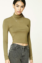 Forever 21 FOREVER 21+ Classic Turtleneck Top