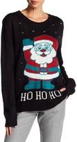 Cotton Emporium Ho Ho Ho Santa Knit Sweater